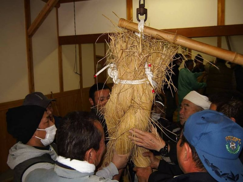 川上大歳神社とくまびき打ち