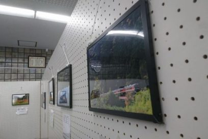 第5回長谷駅フォトコンテスト応募作品の展示