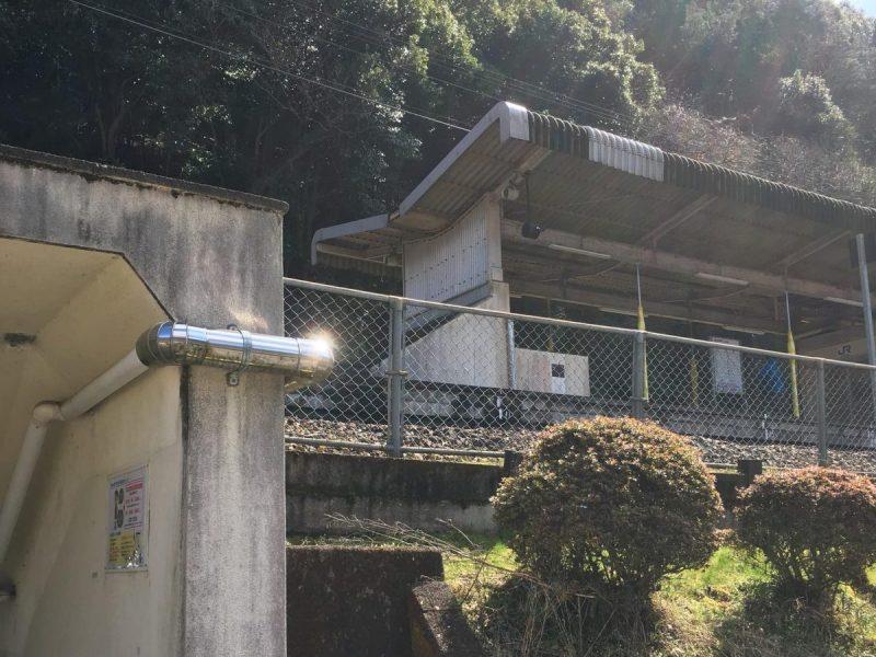 【長谷駅】快速列車全停車記念式典 3月13日
